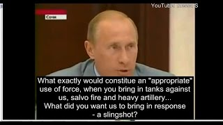 How Russia was framed in Georgia, 2008