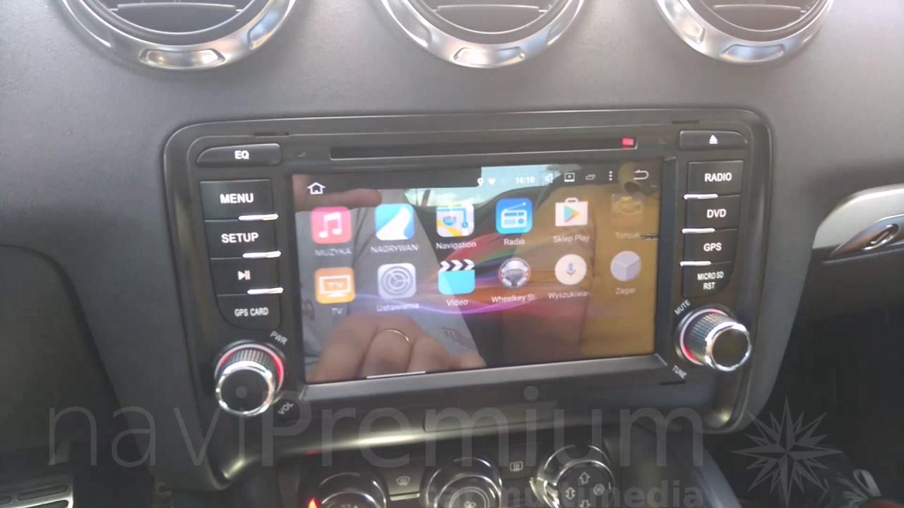 Audi Tt Android 601 Octa Core Nawigacja Dvd Gps Radio Navipremium