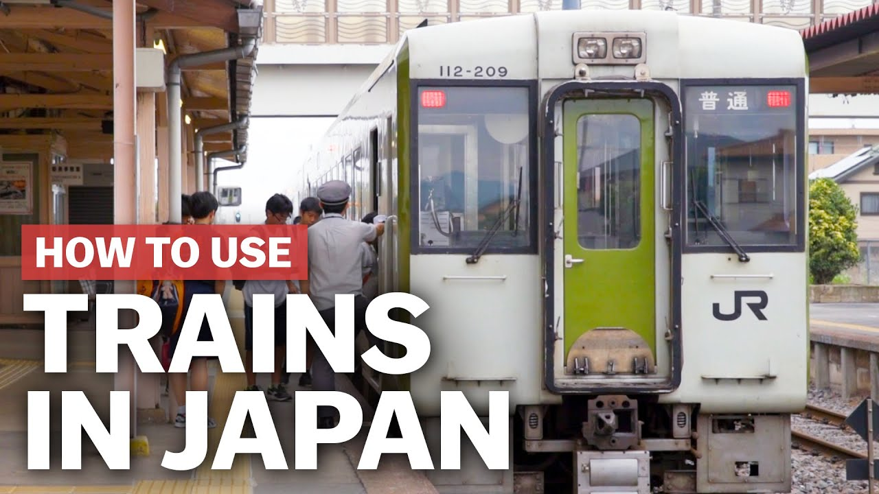Taking the train in Japan