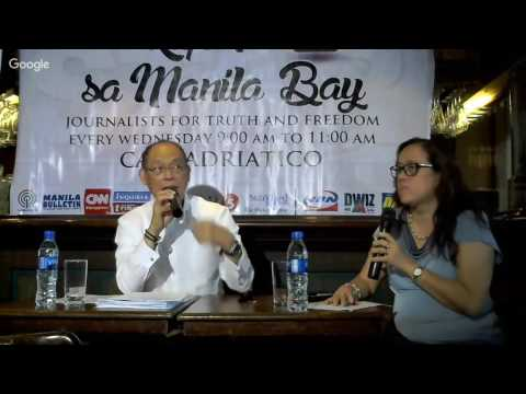 Kapihan: SEC BEN DIOKNO ON BUDGET AND TAXES