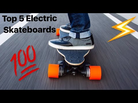 TOP 5 ELECTRIC SKATEBOARDS !!  YouTube