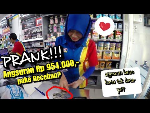 PRANK!!! Ngajak LAMARAN Kasir Indomaret yang cantik di Rembang || yunius motovlog