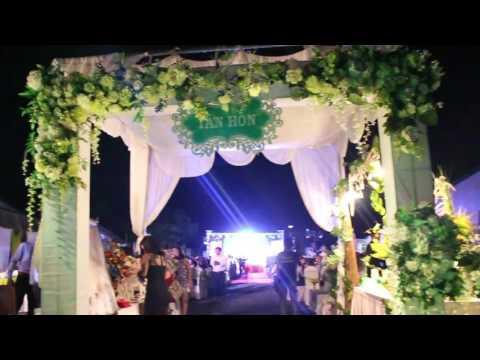 Hôn trường của tiệc cưới ở Nông Thôn (Tà Lài – Tân Phú – Đồng Nai)