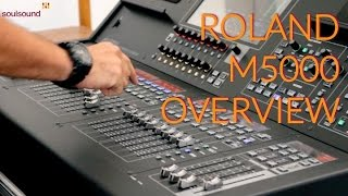 Roland M5000 Overview HD