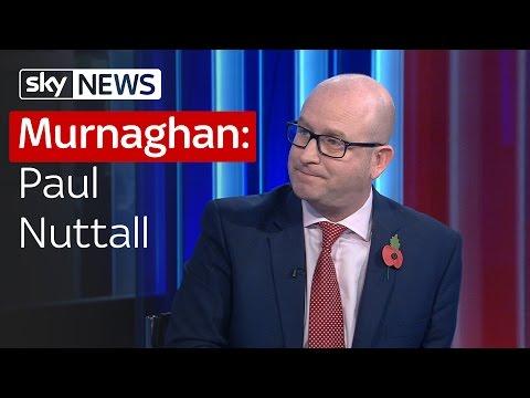 Murnaghan: Paul Nuttall