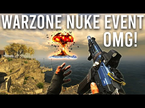 Warzone NUKE Event * LIVE * ( OMG... New Map?! )