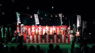 2011 十津川揺れ太鼓03 鼓魂さんの演奏