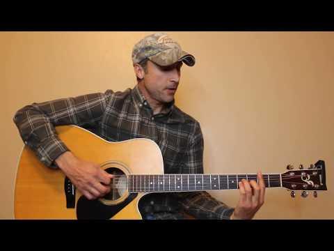 Turnin' Me On - Blake Shelton - Guitar Lesson | Tutorial