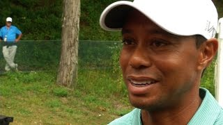 Tiger Woods Round 1 highlights at The Greenbrier Classic