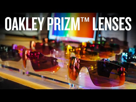 Seeing the world through Oakley Prizm coloured glasses
