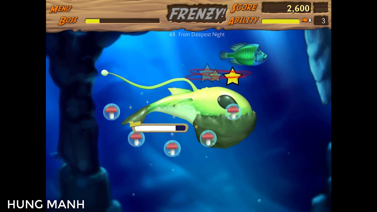 Feeding Frenzy 2 | Game Cá Lớn Nuốt Cá Bé |  HUNG MANH