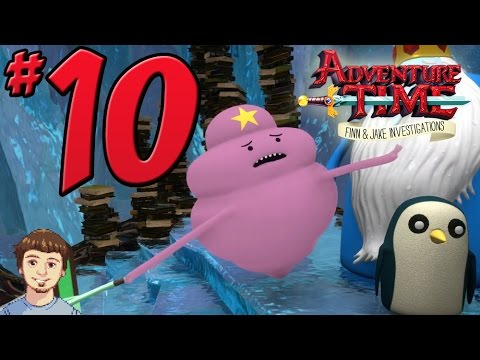 Adventure Time: Finn & Jake Investigations Walkthrough - PART 10 - Lumpy Ice Princess