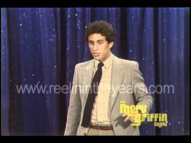 Jerry Seinfeld Standup Merv Griffin Show 1981 Youtube