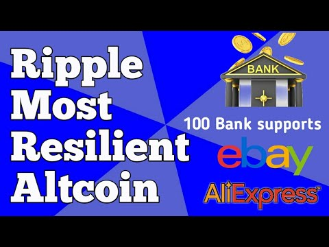 Ripple News - Most Resilient Altcoin , 100 Banks , E-commerce company , Saudi Arabia Central Bank