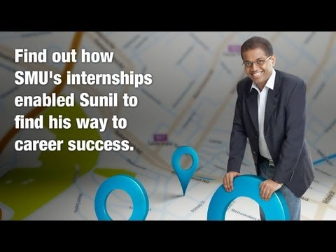 Learn how Sunil's internships enabled him to find career success