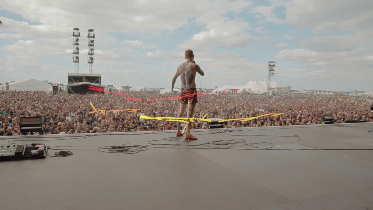 Frank Carter & The Rattlesnakes - Jackals - Live from Download Paris 2018 [RAW AUDIO]
