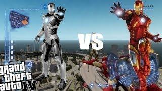 GTA IV Iron Man Mod - Iron Man vs Iron Man!