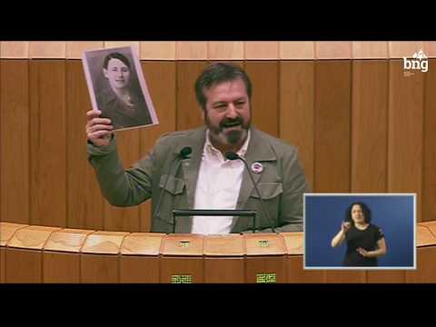"""Luís Bará: """"Temos a obriga de non esquecer ás vítimas do Franquismo"""""""