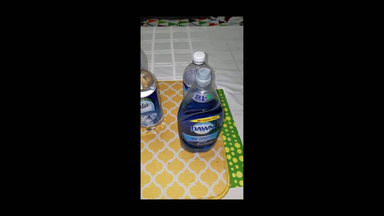 Diy Upholstery Cleaning Solution In Action Micro Fiber Ottoman Red Wine