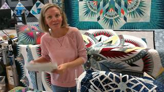 Curved Piecing with Sarah from Quilt Basket