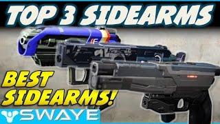 Top 3 BEST Pvp Sidearms in Destiny!