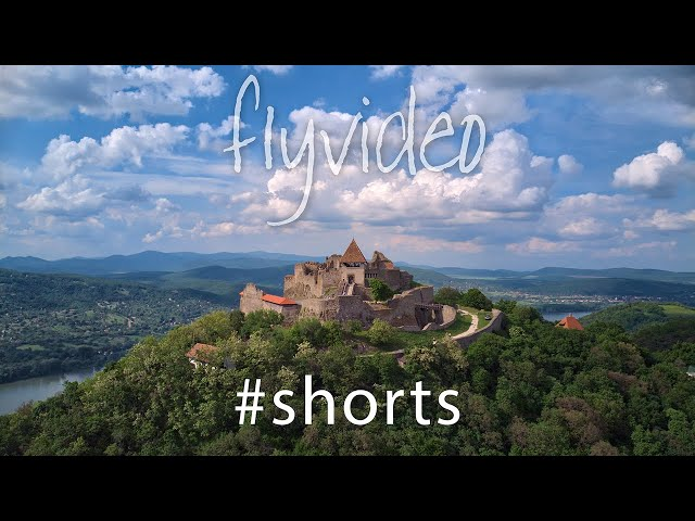 The beautiful Visegrad Castle, Hungary #Shorts