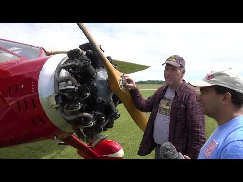 Flying A 1935 Fairchild 24 Rare Antique Aircraft - YouTube