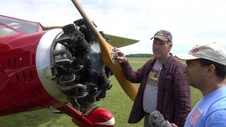 Flying A 1935 Fairchild 24 Rare Antique Aircraft