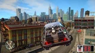 Grand Theft Auto 4 BTTF Review Mod Cop chases and going back in time with RC controller!