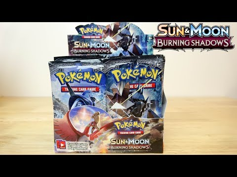 Pokemon Burning Shadows Booster Box Opening!