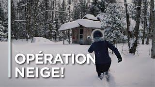 EP03 - OPÉRATION NEIGE! - Le déneigement au Québec!