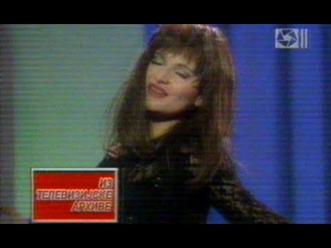 Mira Skoric  Kao led se istopim  Tv Arhiva  NS Plus 1995