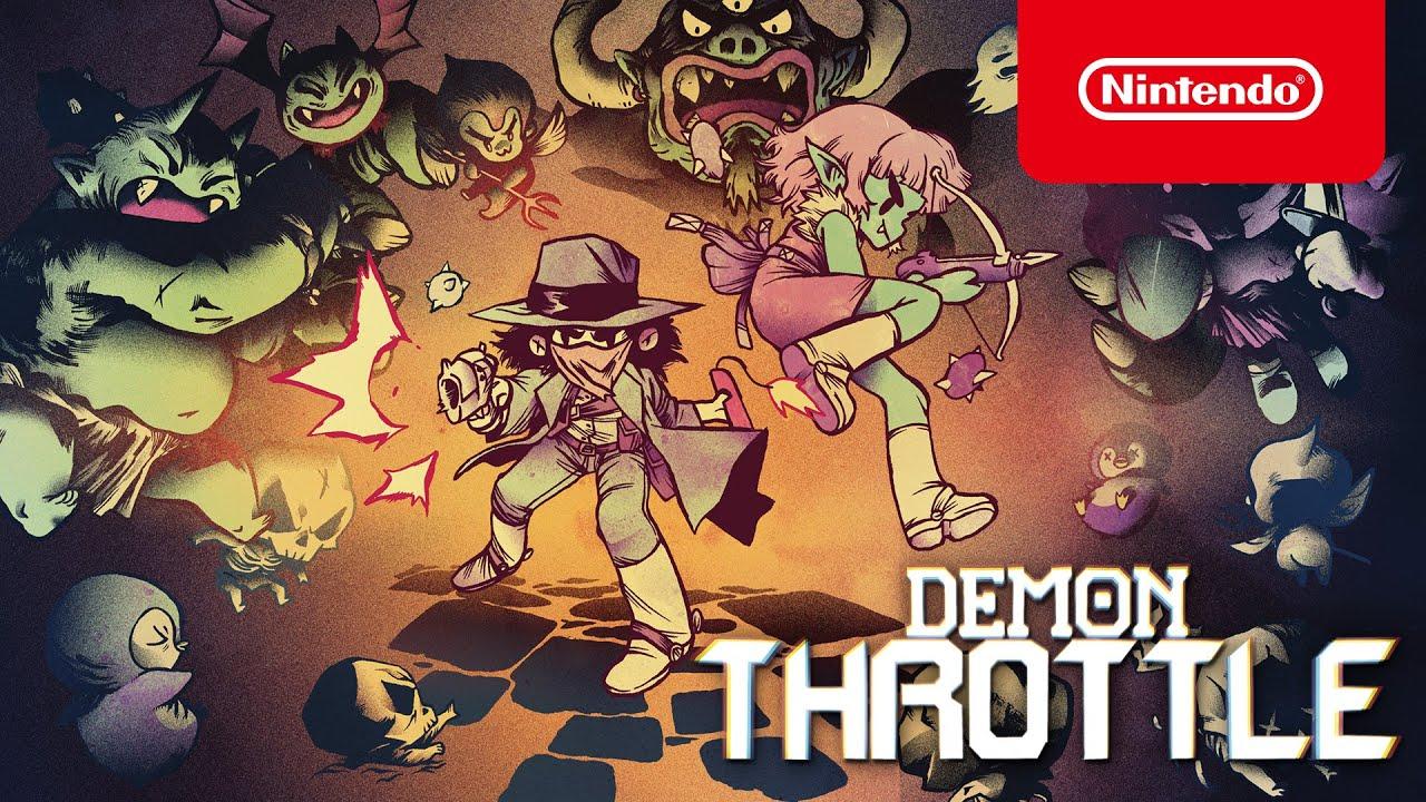 Demon Throttle - Reveal Trailer - Nintendo Switch