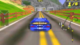 San Francisco Rush: Extreme Racing Game Sample - N64
