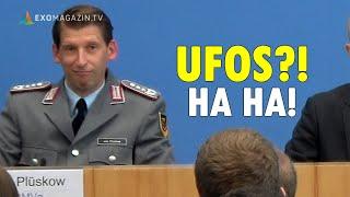 Deutsche Regierung weiß nichts von UFO-Enthüllungen in den USA, Bundeswehr sah angeblich nie UFOs