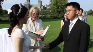 Wedding of Xiaochuan Lin & Shaoyin Chen in Ottawa, Canada