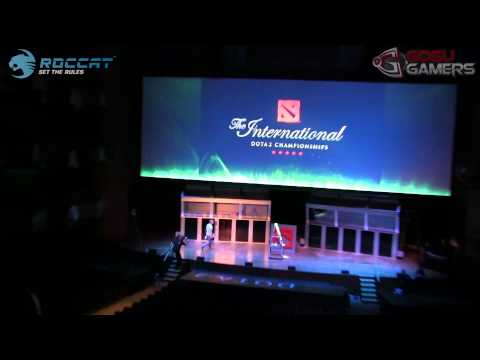 TI3 - Grand Final ceremony testrun @ Day 4