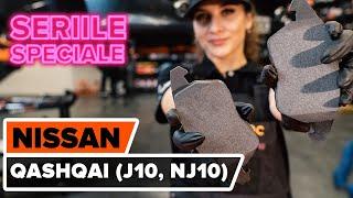 Schimbare Placute Frana spate si față NISSAN QASHQAI / QASHQAI +2 (J10, JJ10) - video instrucțiuni