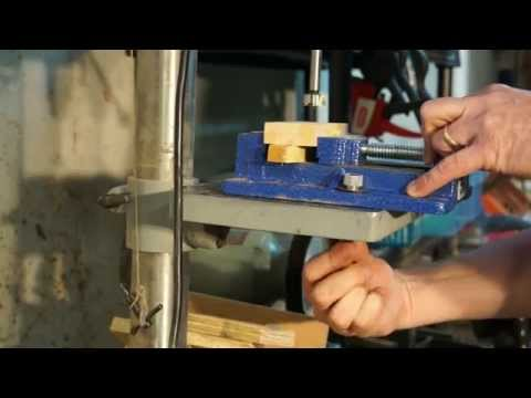 Shop Tip - Drill Press Vise Quick Release