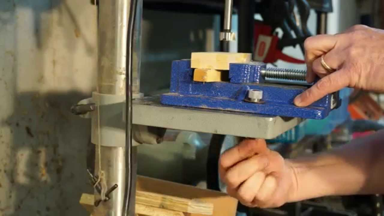 Shop Tip Drill Press Vise Quick Release Youtube