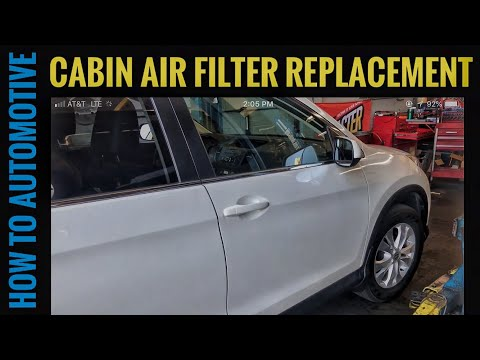 How to Replace the Cabin Air Filter on a 2012-2016 Honda CR-V