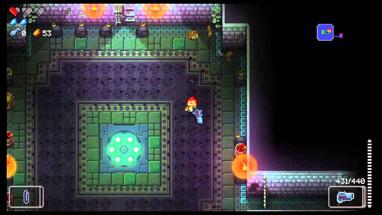 Enter the Gungeon Oubliette TRY 3 HOW TO! - YouTube
