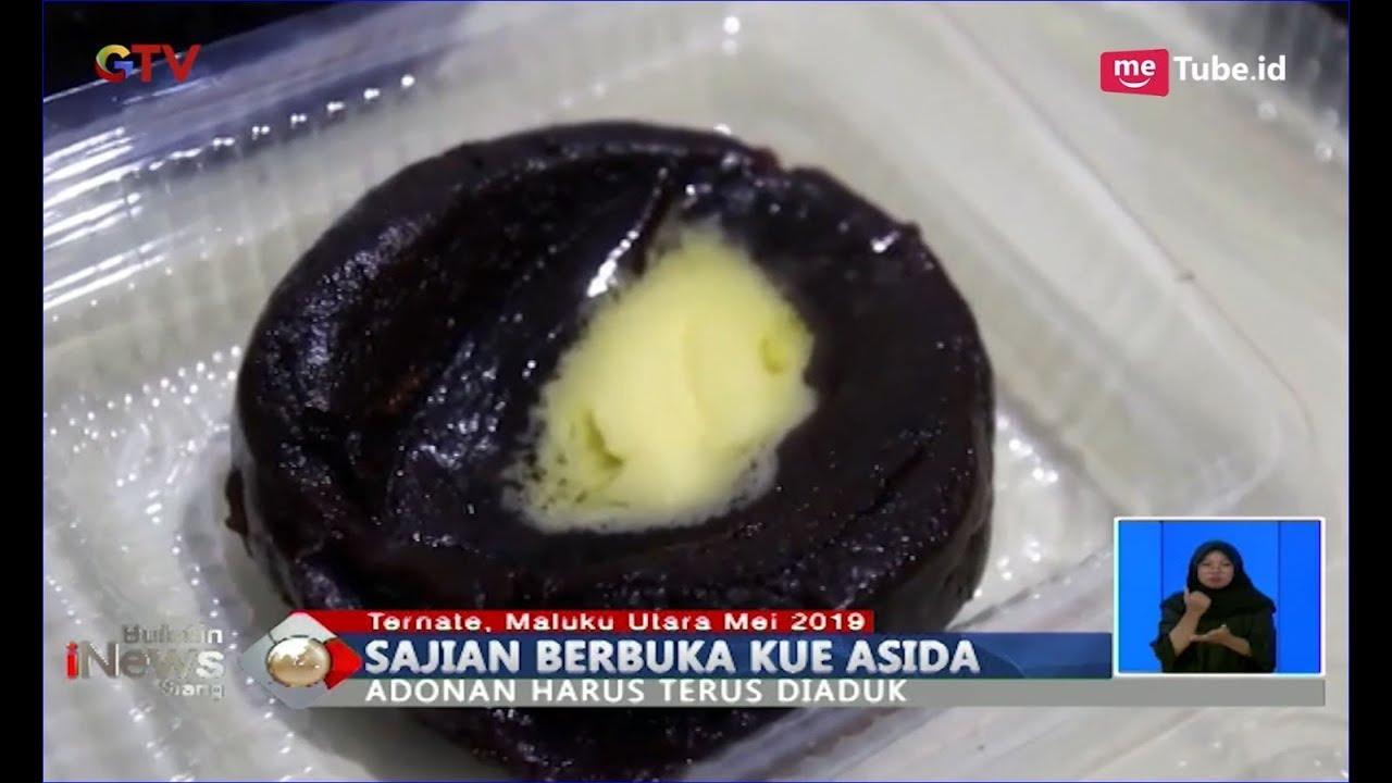 Kenyal Dan Lagit Kue Asida Makanan Khas Bulan Ramadan Di Kota Ternate Bis 17 05 Youtube