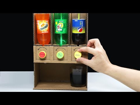 How to make Pepsi 7Up Mirinda Dispenser