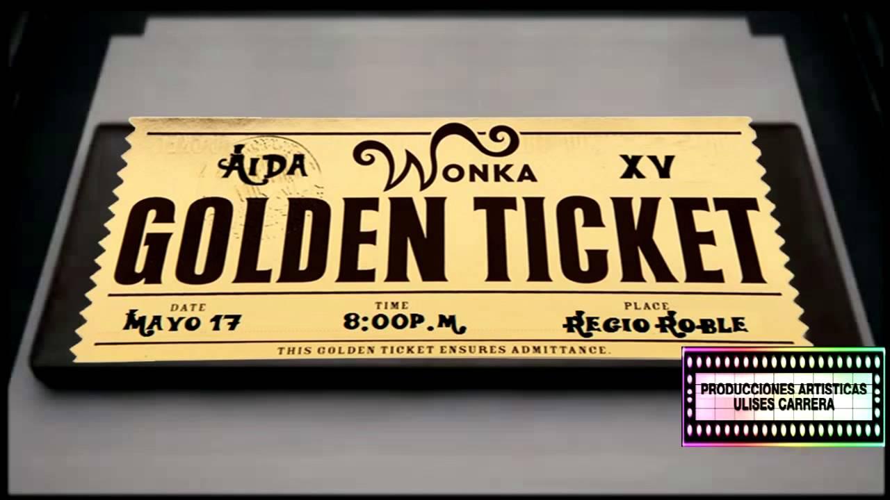 Xv Años Aida Willy Wonka