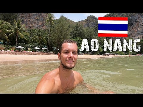 CHILLING IN AO NANG - FIRST IMPRESSIONS OF THAILAND (KRABI)