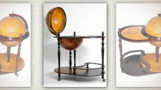 Globe Bar Carts And Trolleys