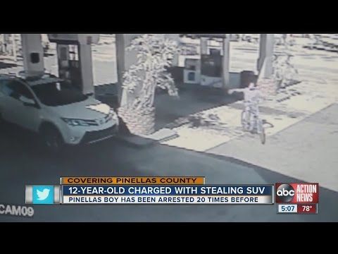 Boy, 12, steals car from 89-year-old man in Pinellas County