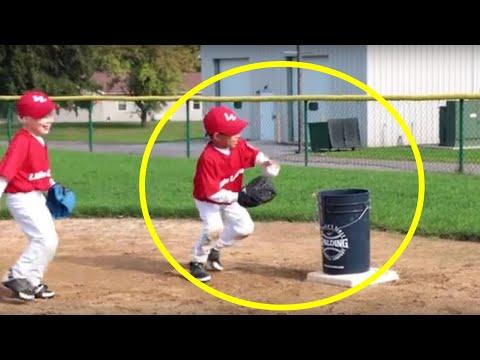Using A Bucket To Teach Defense In Tee Ball | Little League
