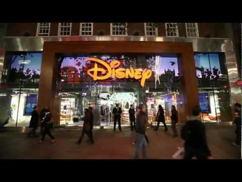 Future Talent performs at Oxford Street's Disney Store.mp4